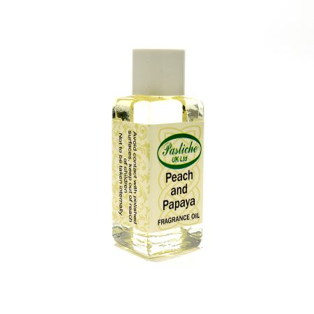 Peach and Papaya Fragrance Oils